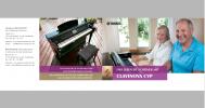 4-Seiter für die Produktreihe Clavinova CVP